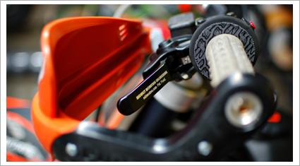 Midwest Mountain Engineering efficient brake and clutch levers for dirt bikes from the USA sold around the world